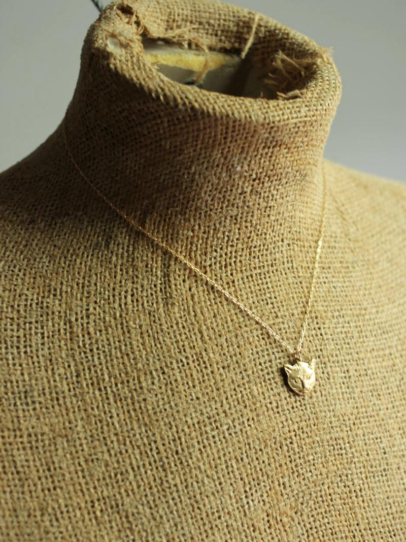 kitten necklace