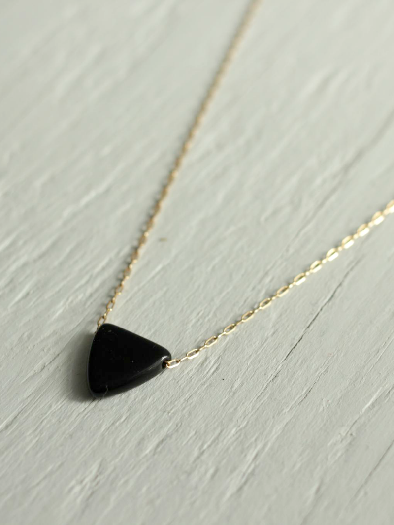 black arrow necklace