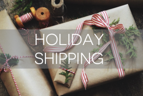 holiday shipping feature