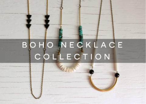 boho necklaces feature