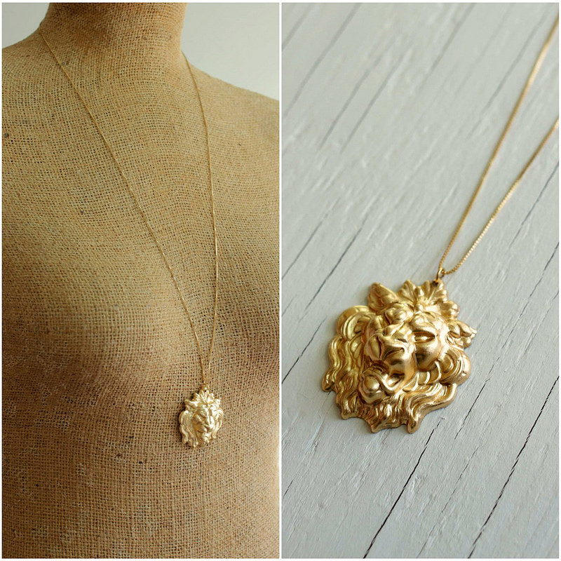 lion game of thrones lannister jewelry