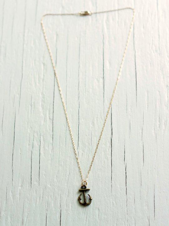 iron anchor necklace GOT