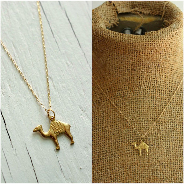 dorne camel necklace