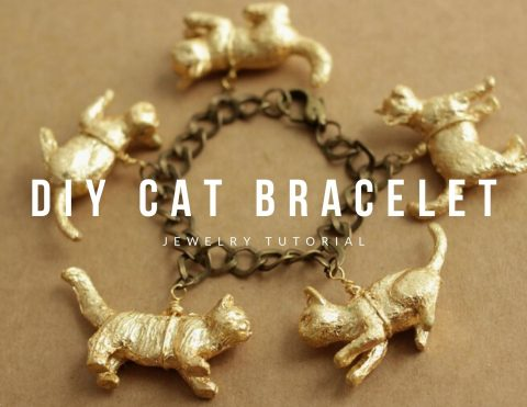 DIY How To Make A Cat Bracelet
