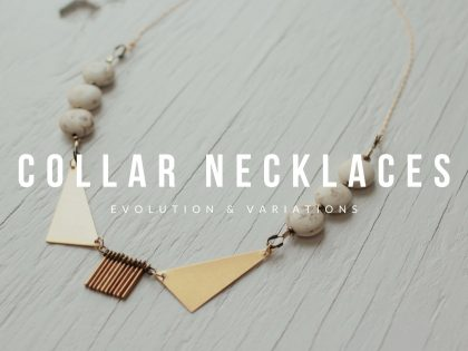 Bib Collar Necklace for Spring 2021 Fashion